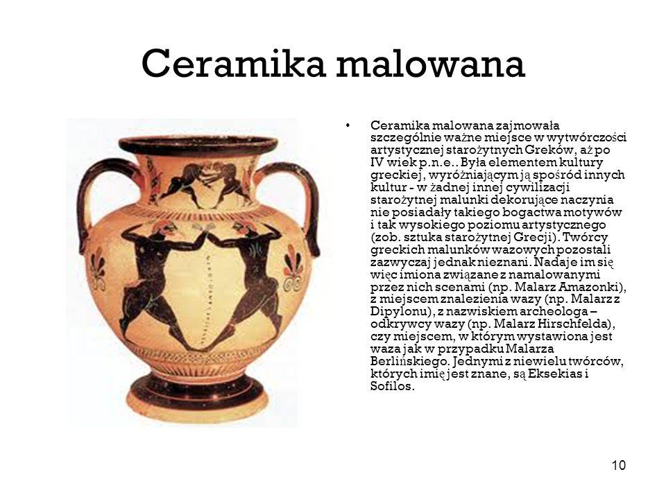 Ceramika malowana
