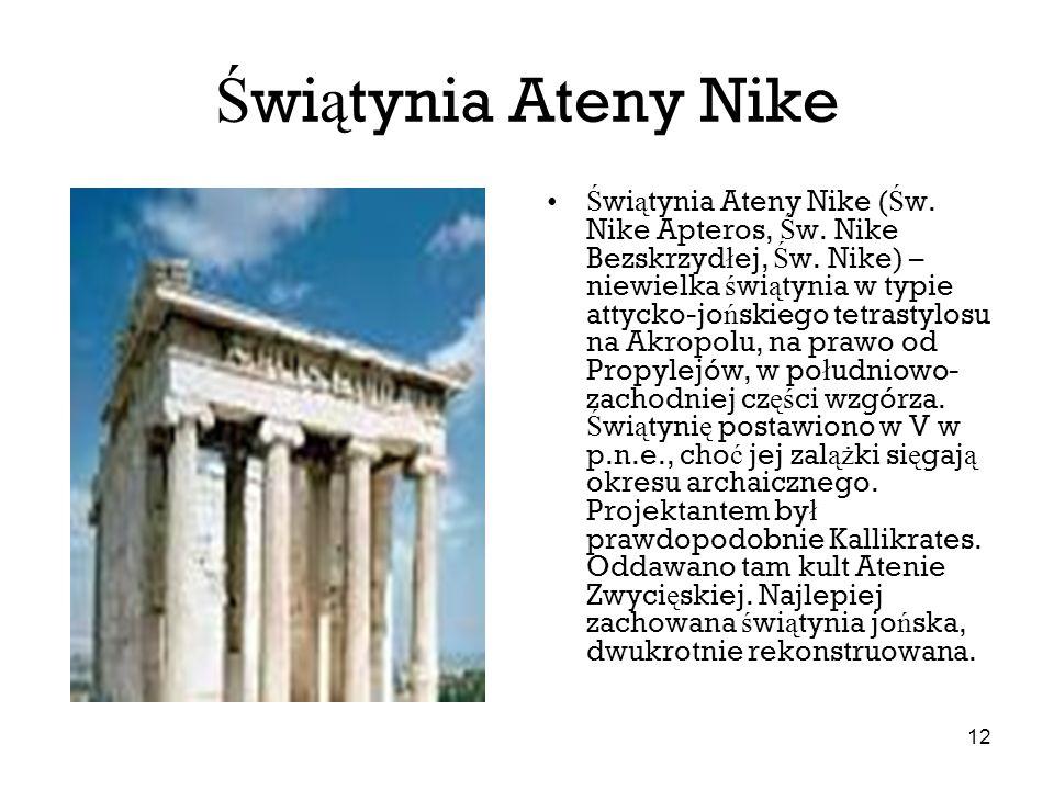 Świątynia Ateny Nike