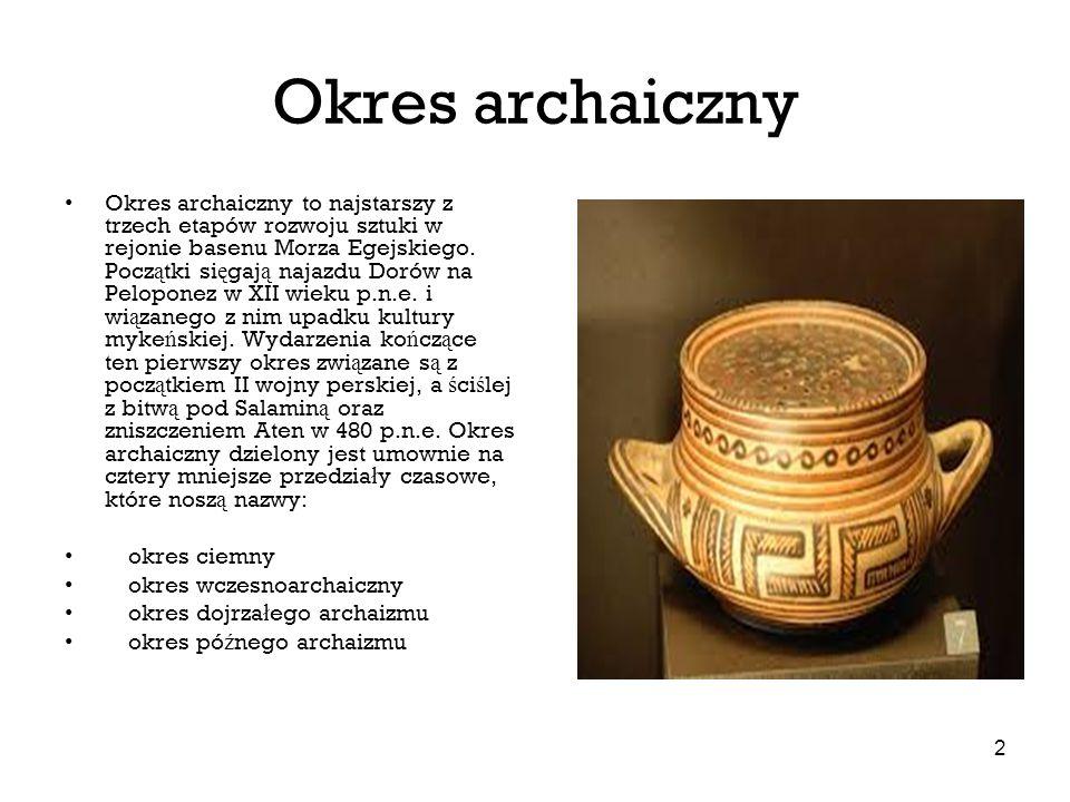 Okres archaiczny