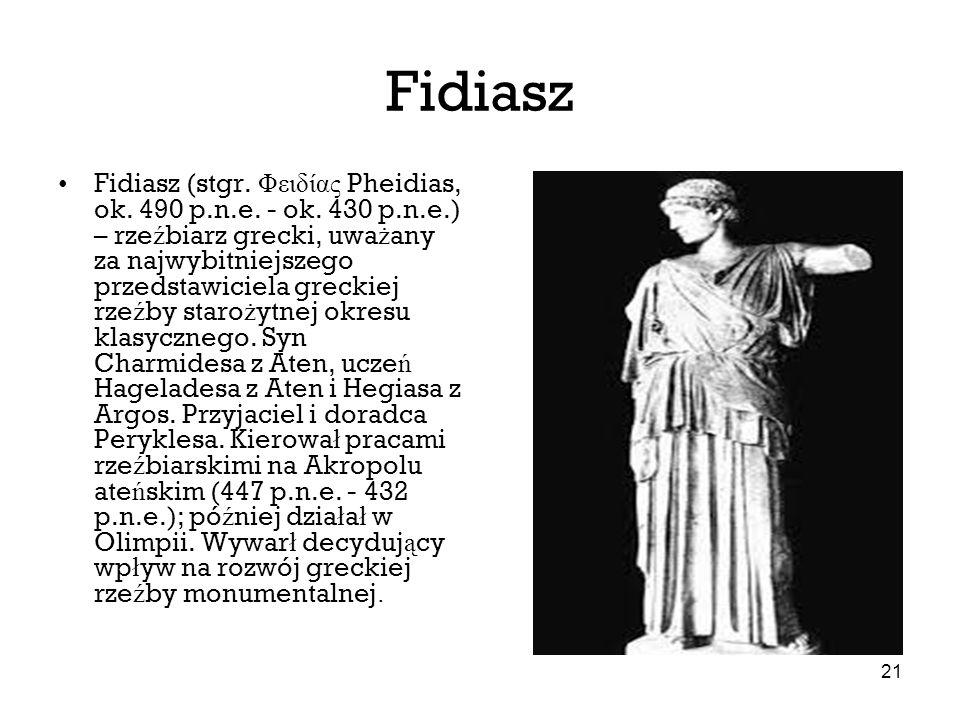 Fidiasz