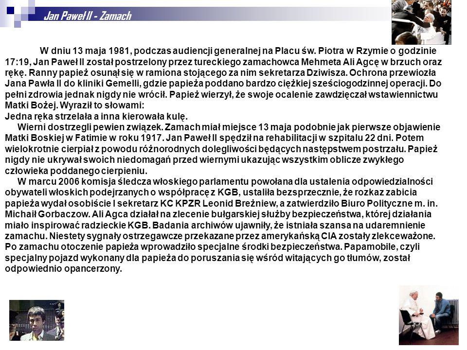 Jan Paweł II - Zamach