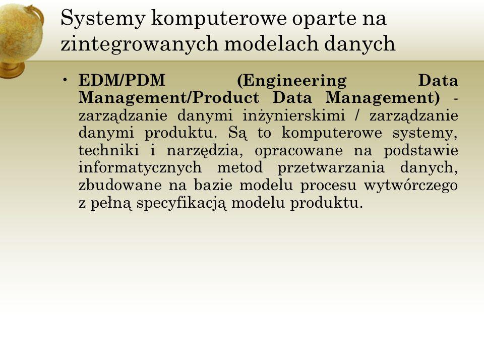 Systemy komputerowe oparte na zintegrowanych modelach danych