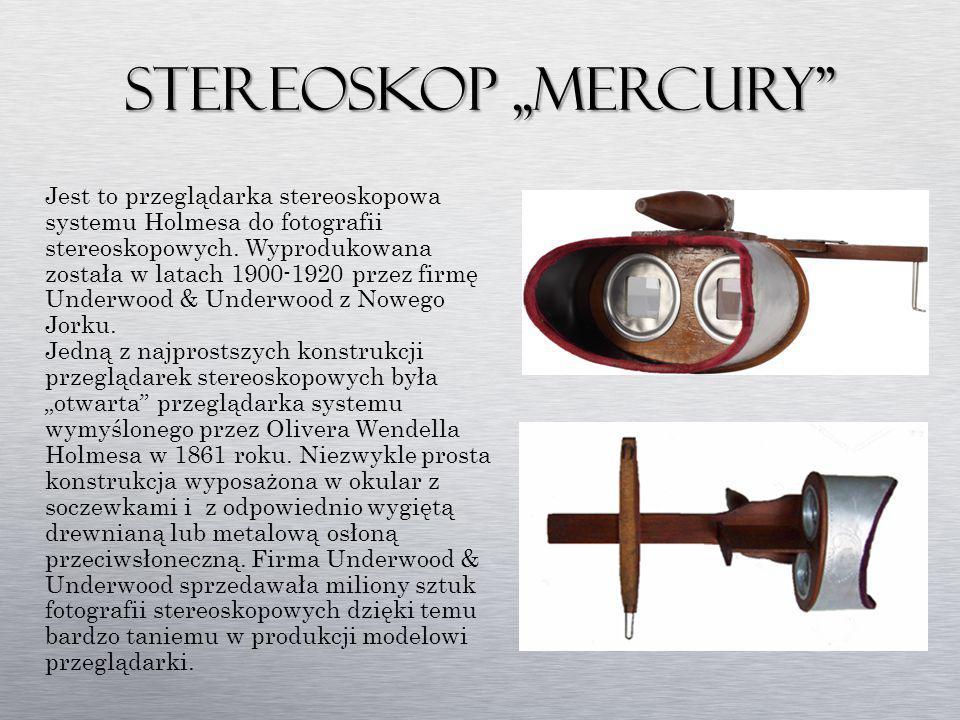 Stereoskop ,,Mercury
