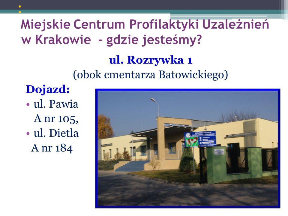 (obok cmentarza Batowickiego)
