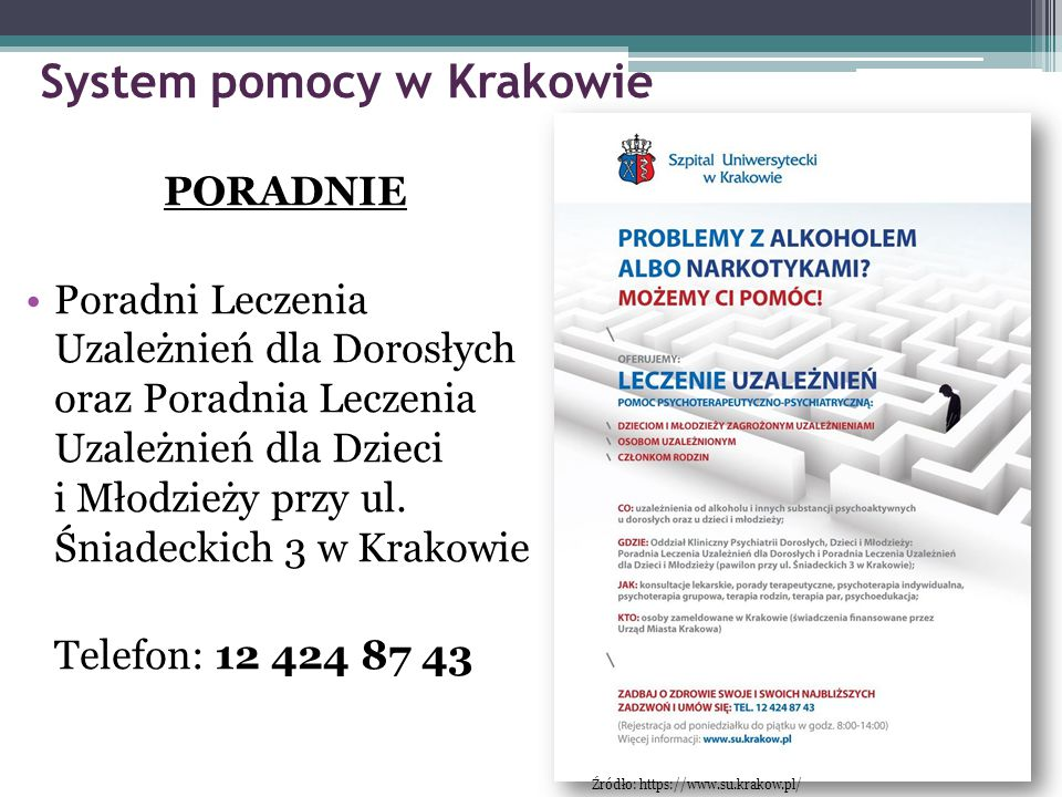 System pomocy w Krakowie