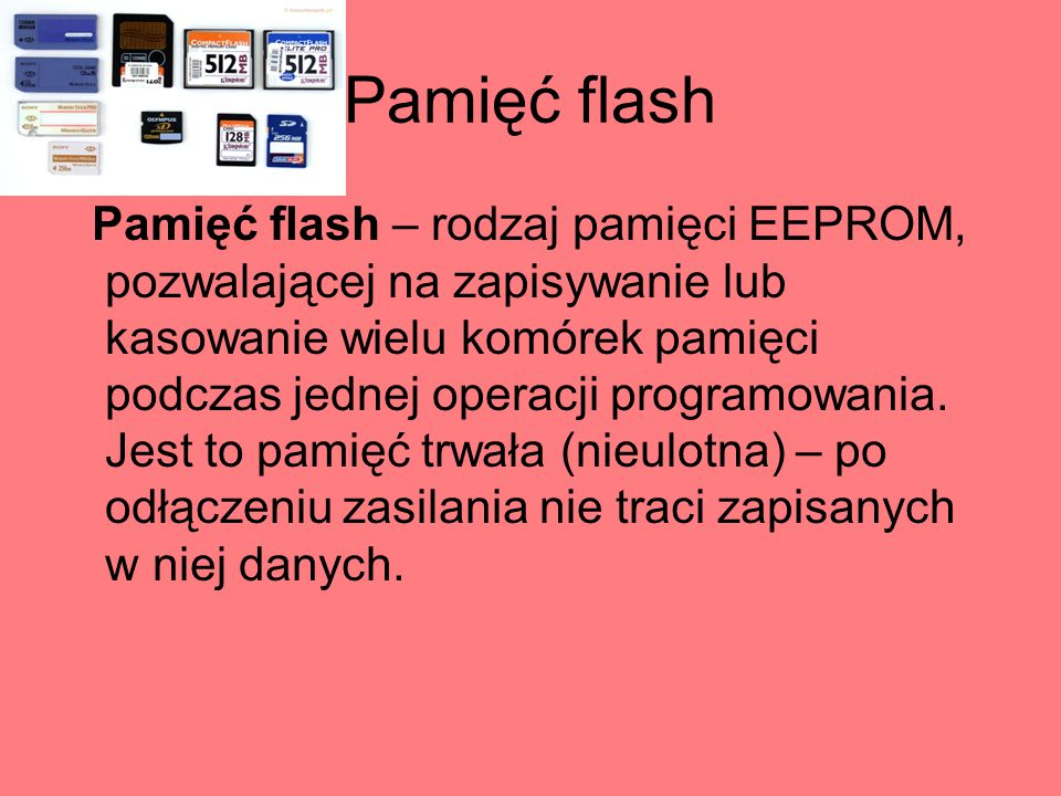 Pamięć flash