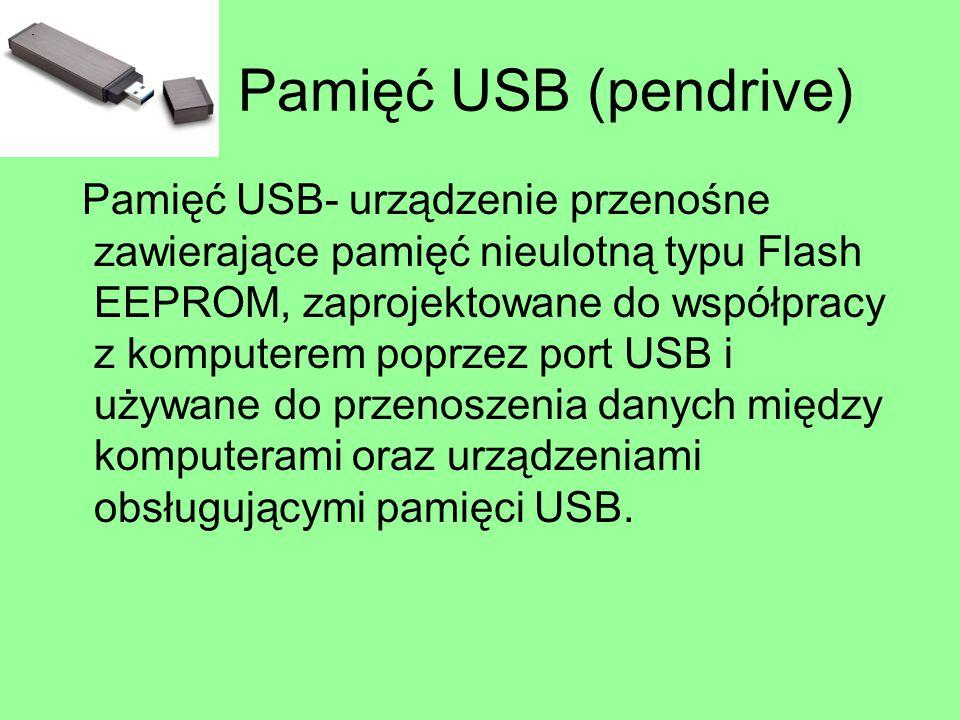 Pamięć USB (pendrive)