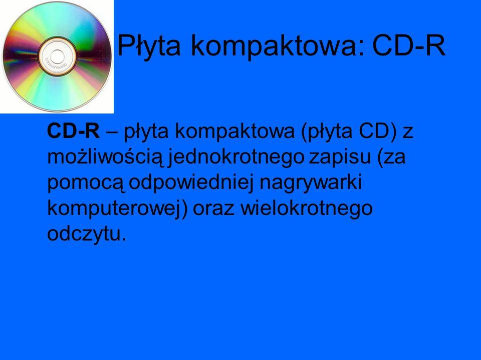 Płyta kompaktowa: CD-R