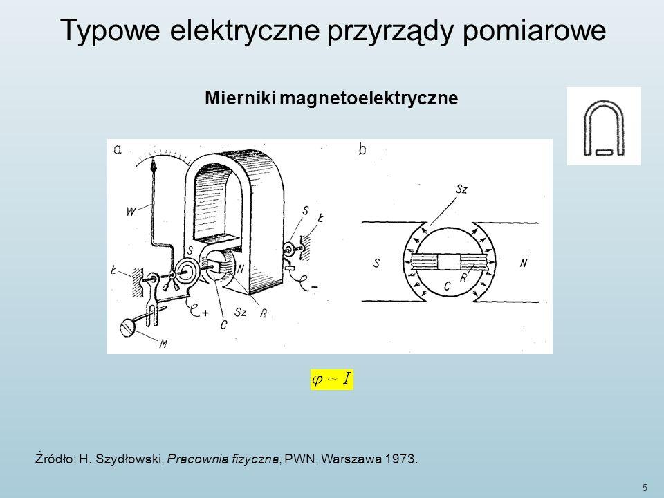 Mierniki magnetoelektryczne