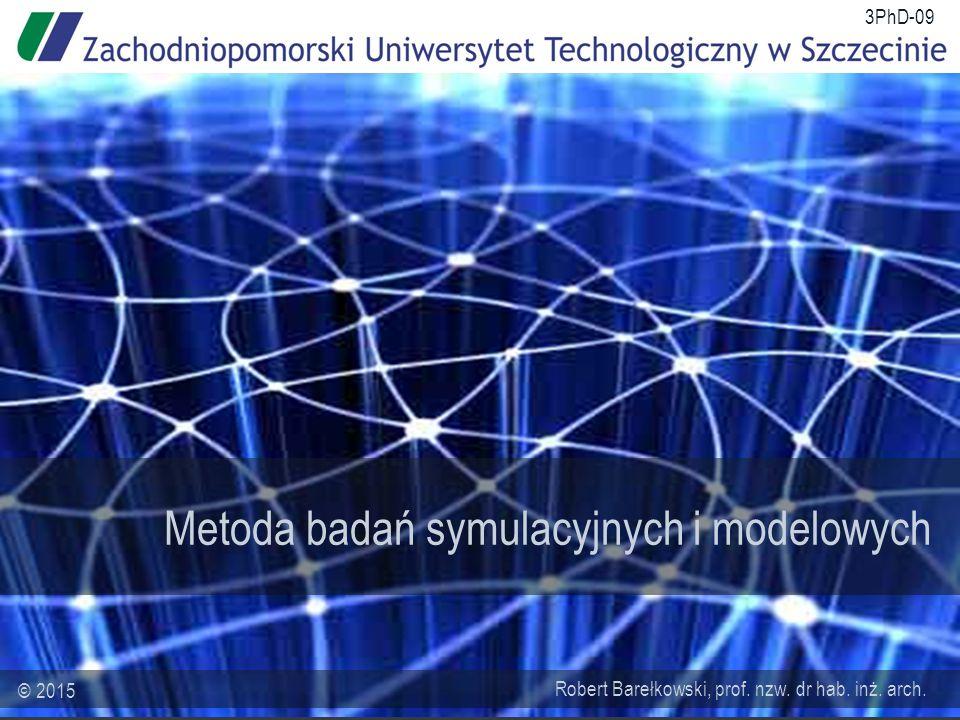 Metoda badań symulacyjnych i modelowych