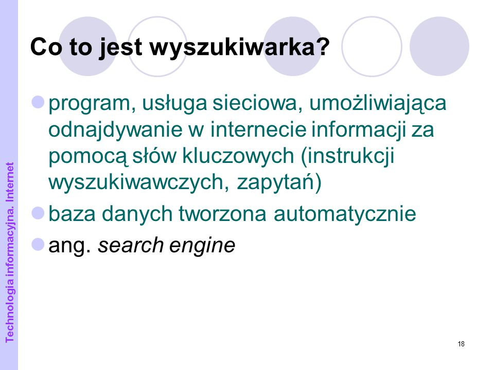 Co to jest wyszukiwarka