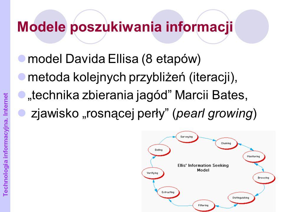 Modele poszukiwania informacji