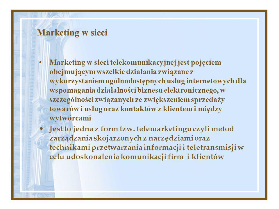 Marketing w sieci