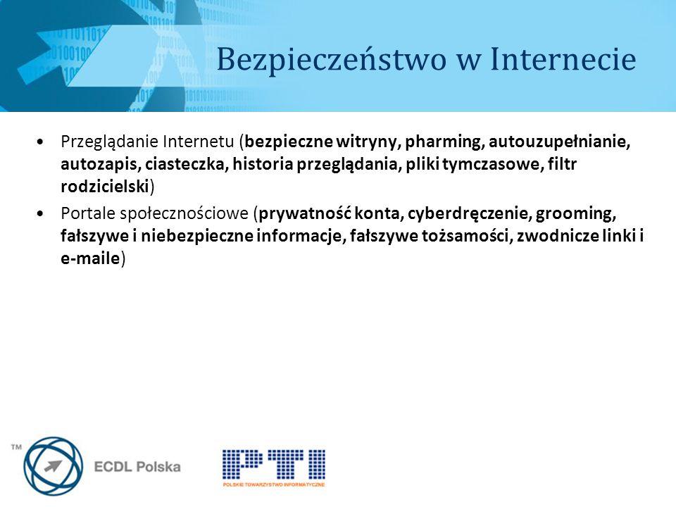 Bezpieczeństwo w Internecie