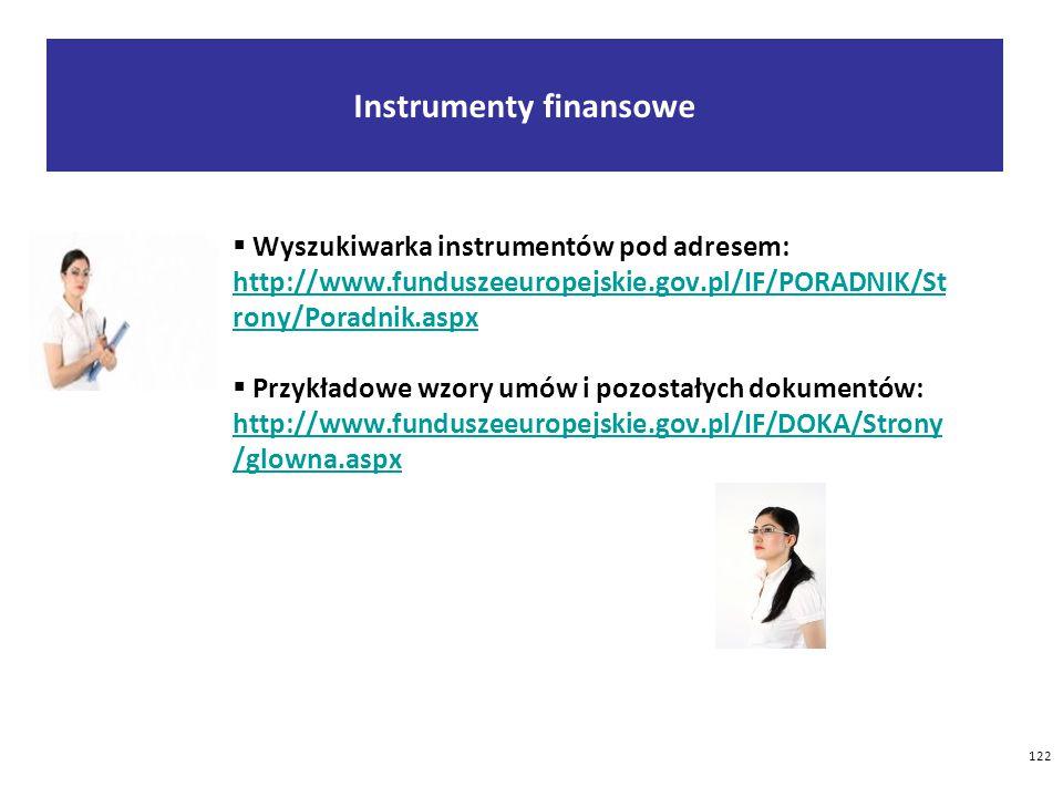 Instrumenty finansowe