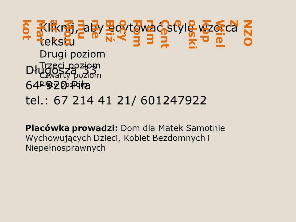 NZOZ Wielkopolskie Centrum Pomocy Bliźniemu Monar - Markot