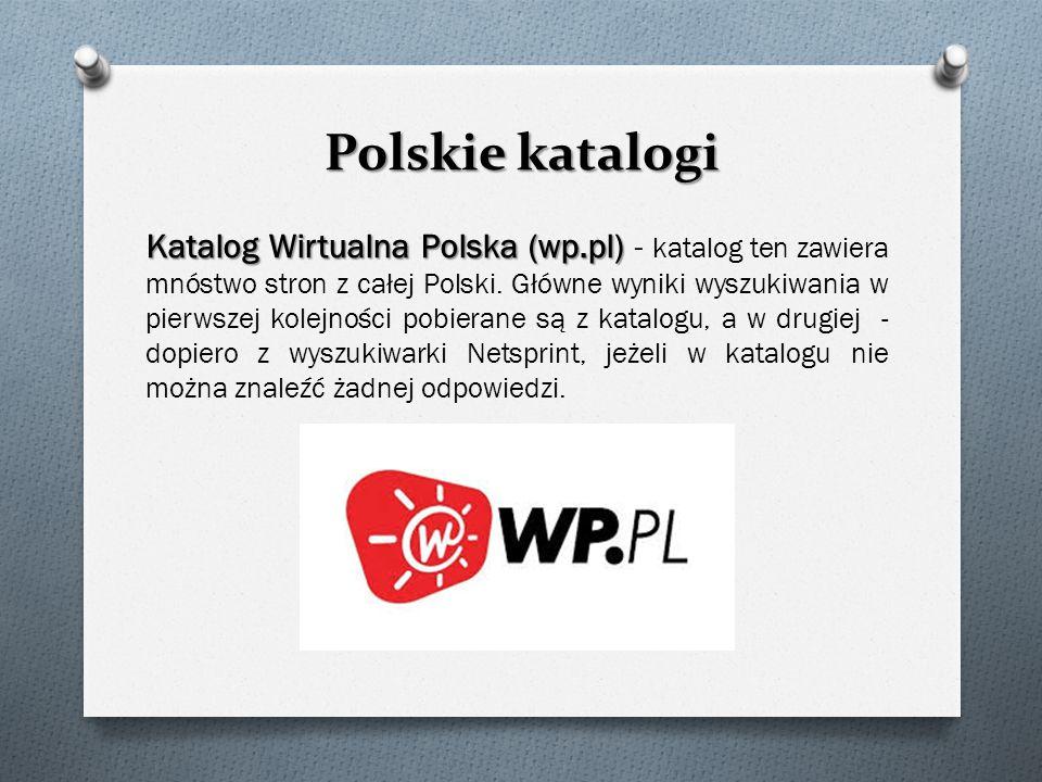 Polskie katalogi