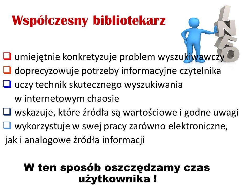 Współczesny bibliotekarz