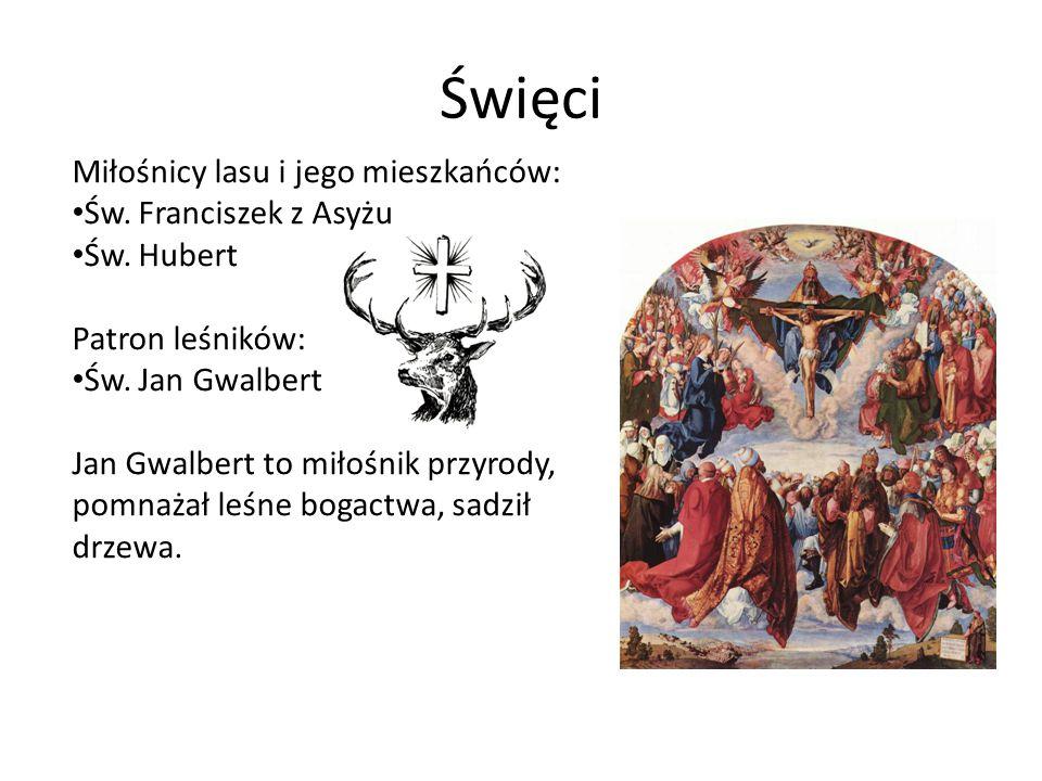 Święci Miłośnicy lasu i jego mieszkańców: Św. Franciszek z Asyżu