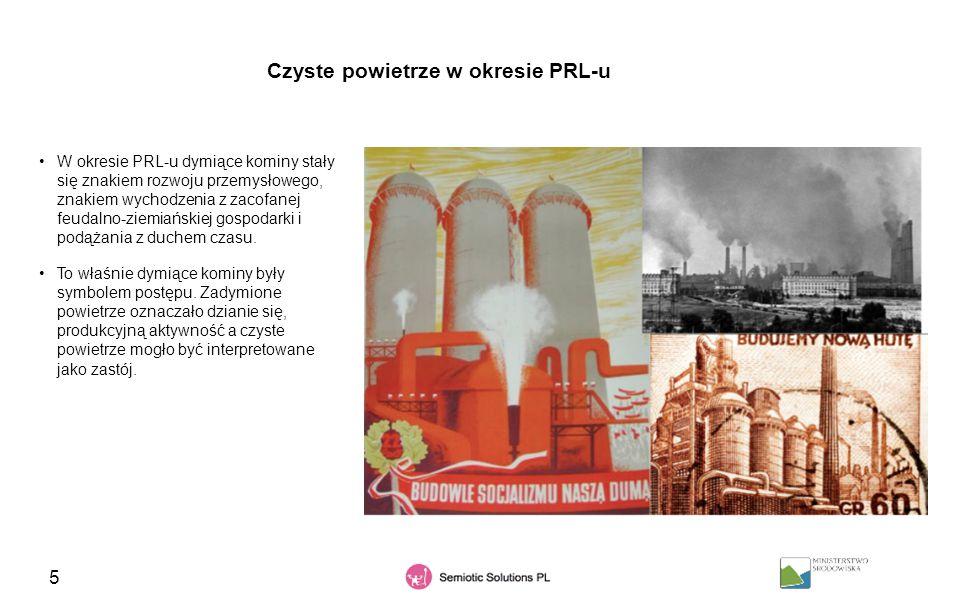 Czyste powietrze w okresie PRL-u