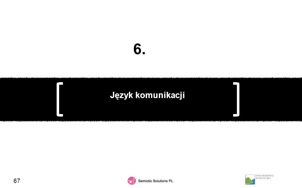6. Język komunikacji