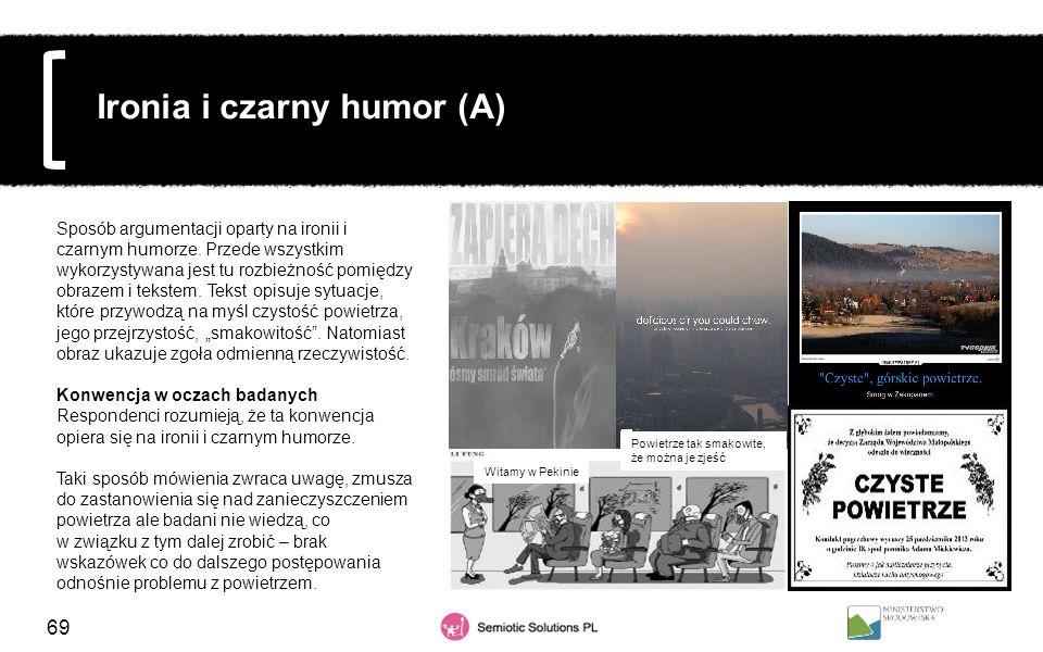 Ironia i czarny humor (A)