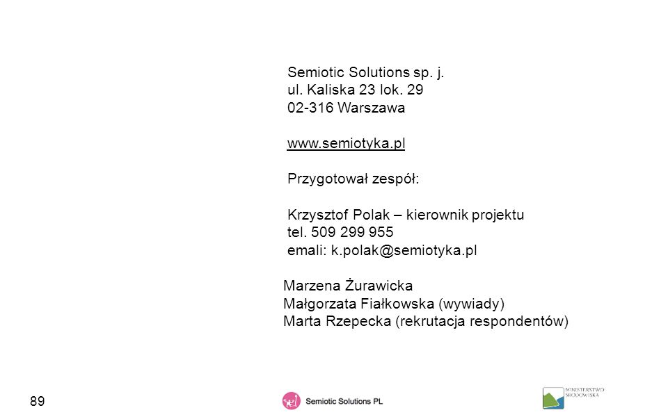Semiotic Solutions sp. j.