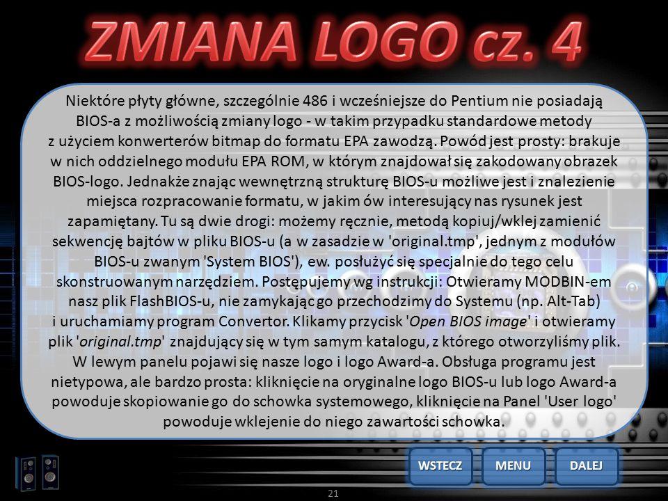 ZMIANA LOGO cz. 4