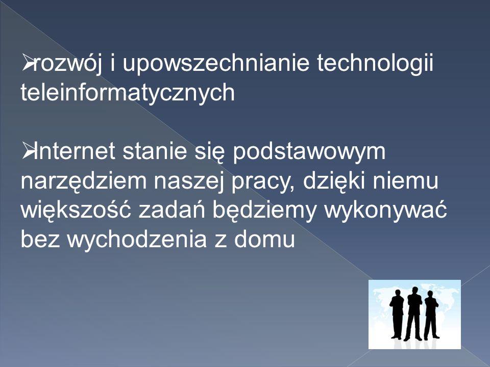 rozwój i upowszechnianie technologii teleinformatycznych
