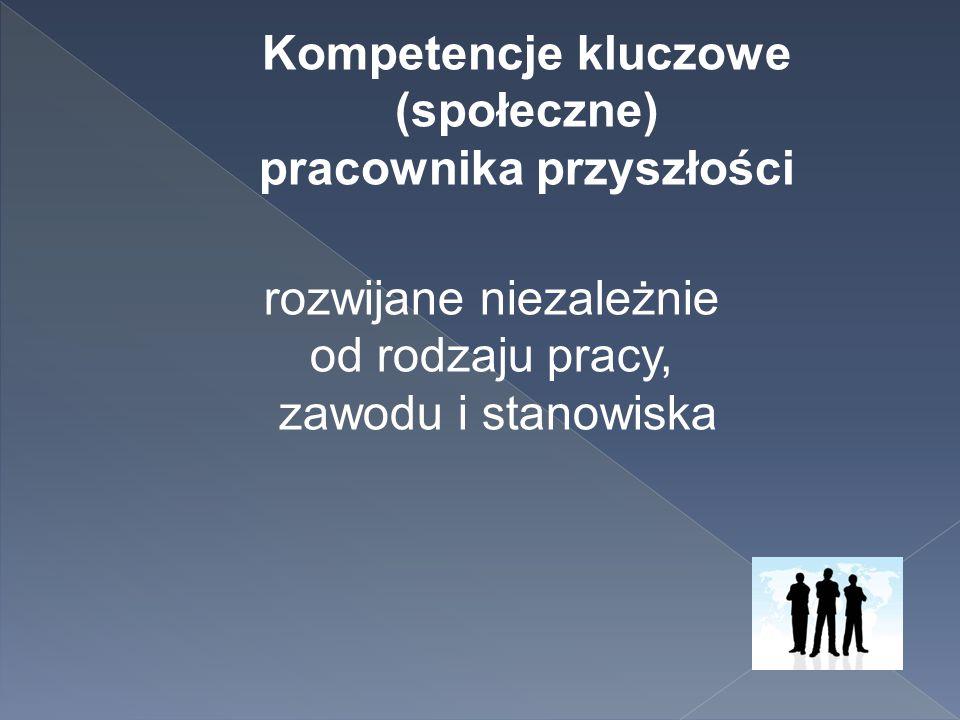 Kompetencje kluczowe (społeczne) pracownika przyszłości