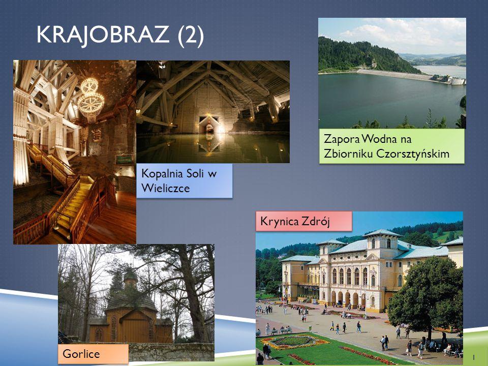 Krajobraz (2) Zapora Wodna na Zbiorniku Czorsztyńskim