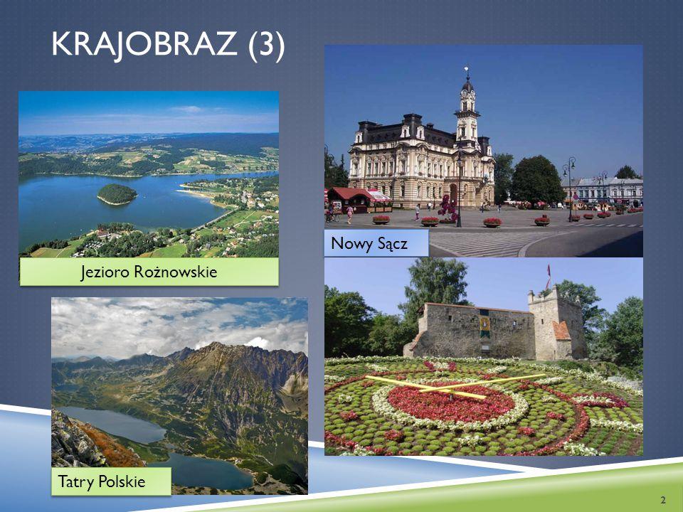 Krajobraz (3) Nowy Sącz Jezioro Rożnowskie Tatry Polskie