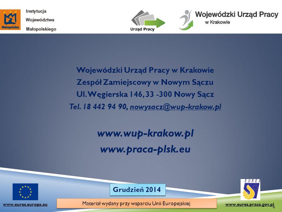 www.wup-krakow.pl www.praca-plsk.eu