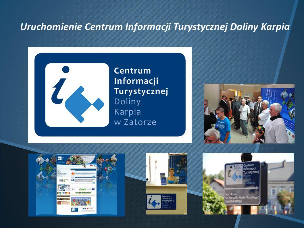 Uruchomienie Centrum Informacji Turystycznej Doliny Karpia