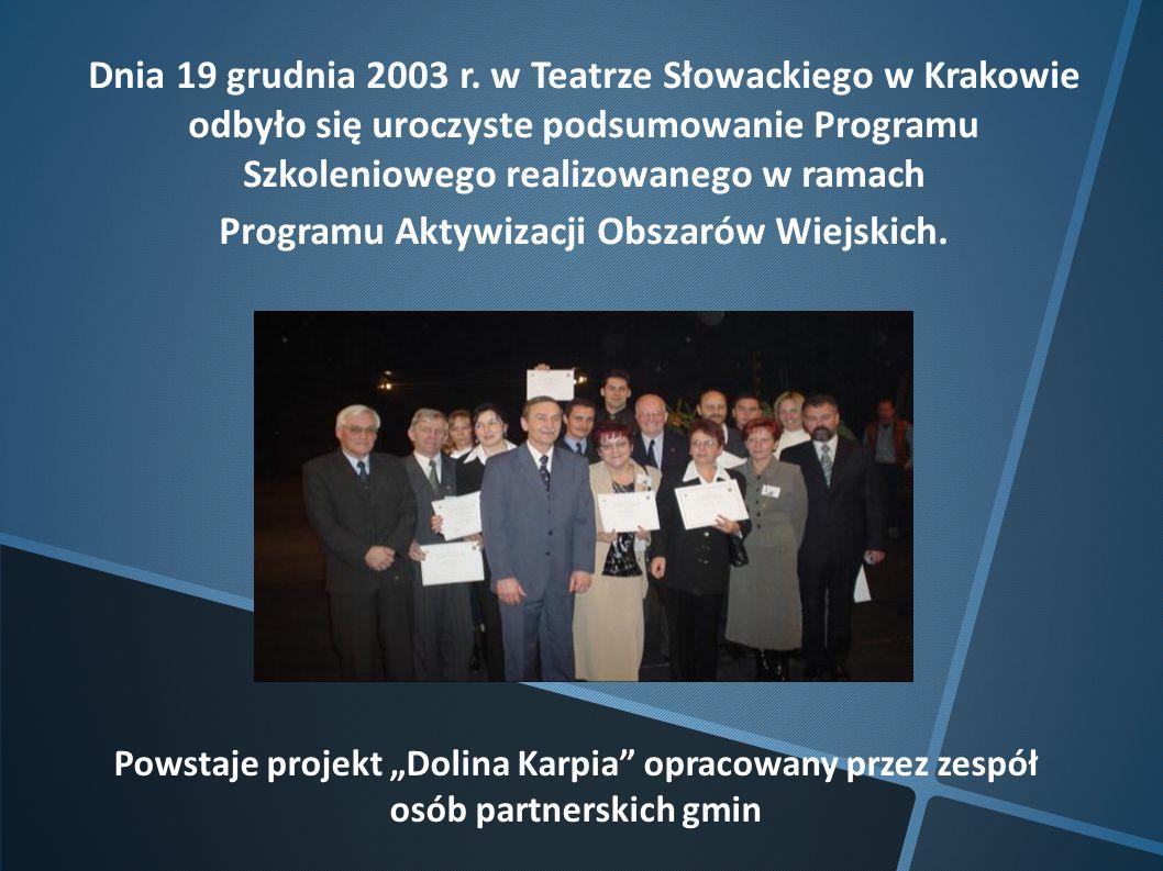 Programu Aktywizacji Obszarów Wiejskich.