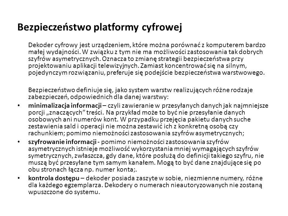 Bezpieczeństwo platformy cyfrowej