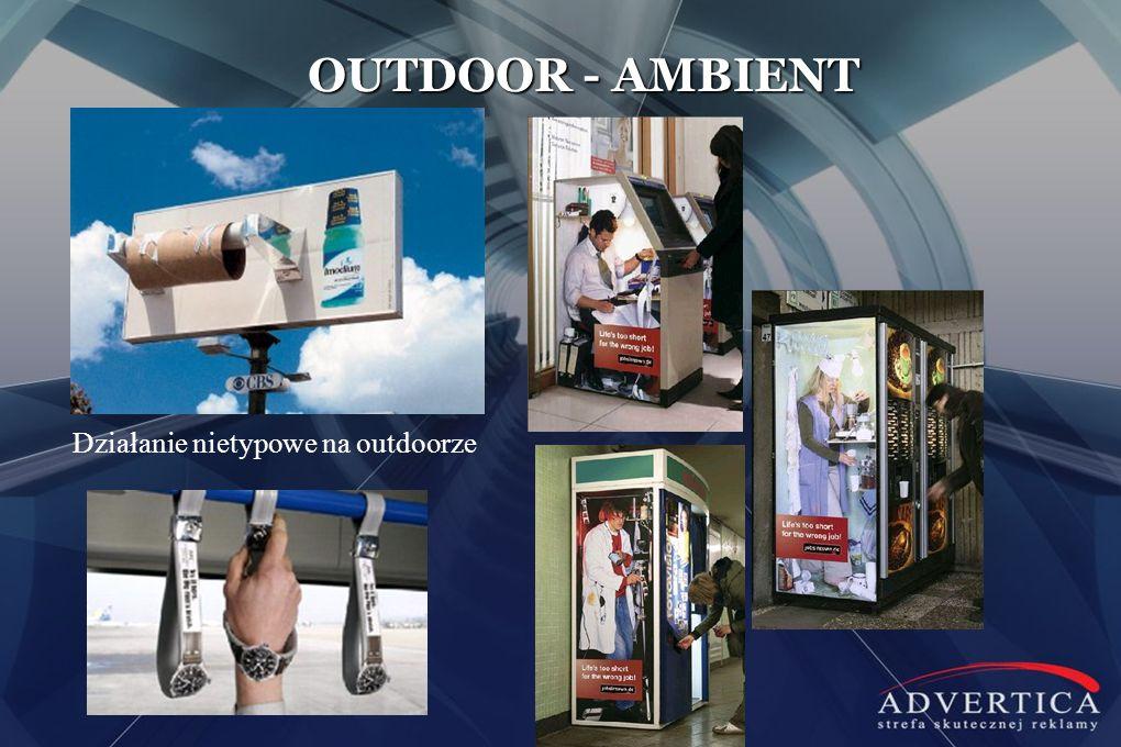 OUTDOOR - AMBIENT Działanie nietypowe na outdoorze