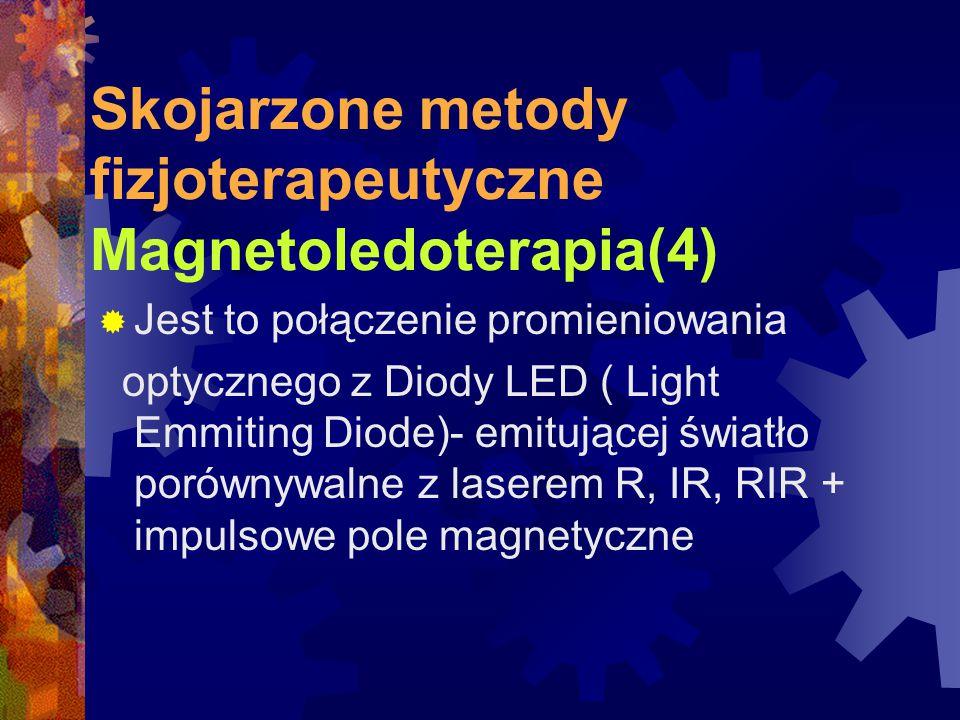 Skojarzone metody fizjoterapeutyczne Magnetoledoterapia(4)