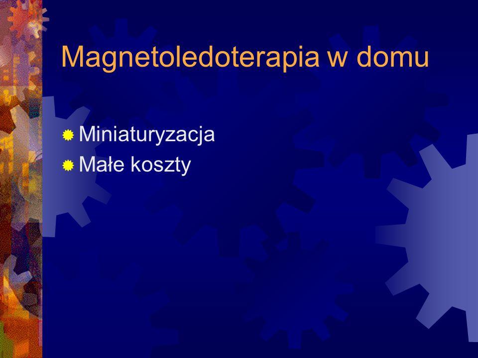 Magnetoledoterapia w domu
