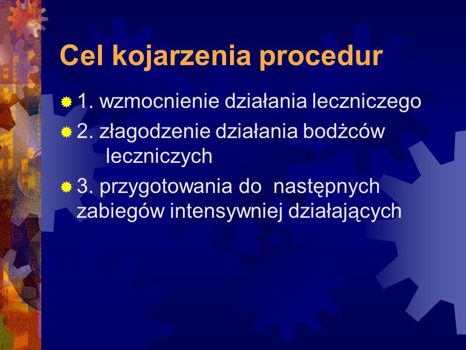 Cel kojarzenia procedur