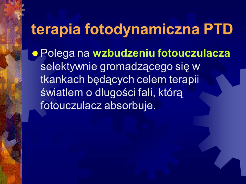terapia fotodynamiczna PTD