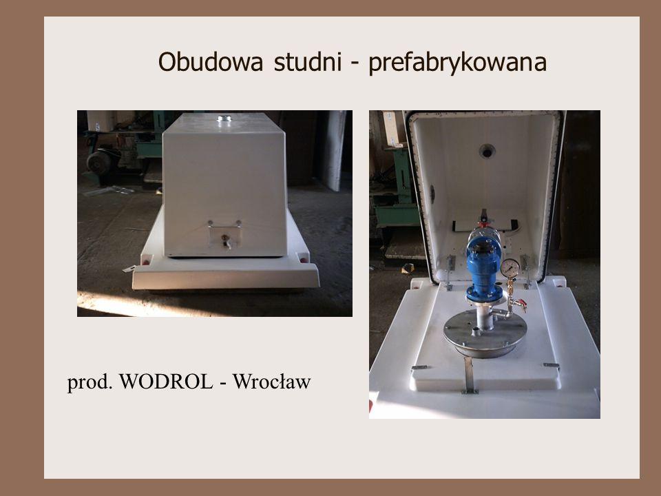 Obudowa studni - prefabrykowana