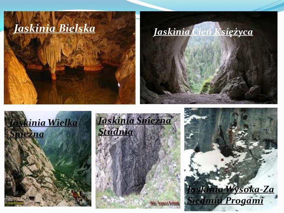 Jaskinia Bielska Jaskinia Cień Księżyca Jaskinia Śnieżna Studnia
