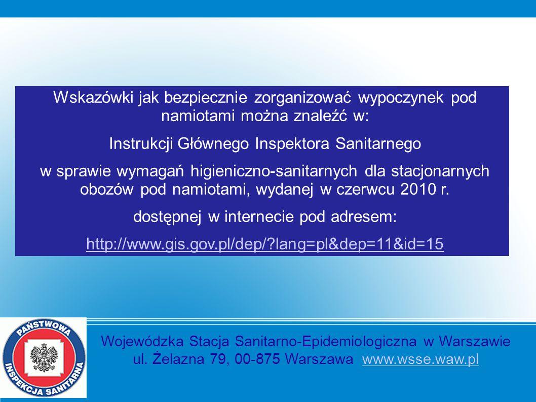Instrukcji Głównego Inspektora Sanitarnego