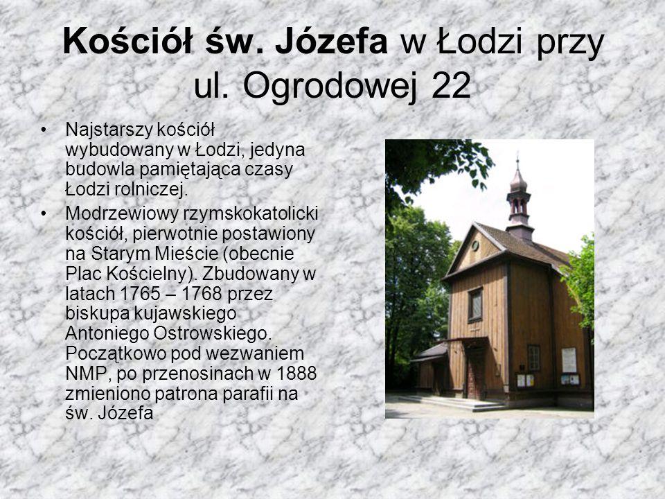 Kościół św. Józefa w Łodzi przy ul. Ogrodowej 22