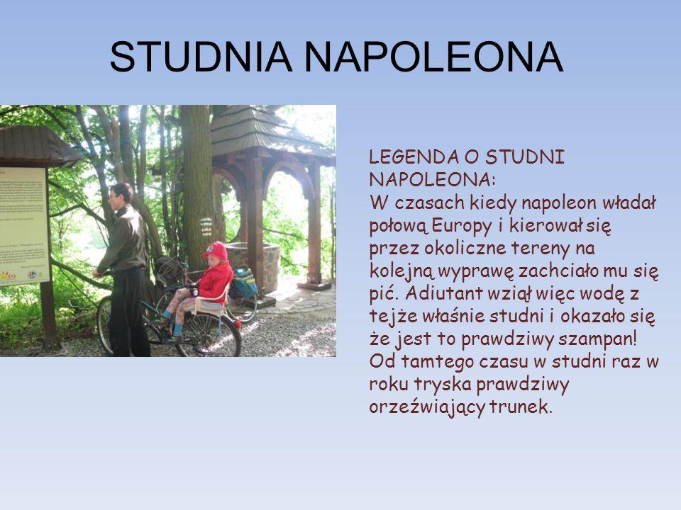 STUDNIA NAPOLEONA LEGENDA O STUDNI NAPOLEONA:
