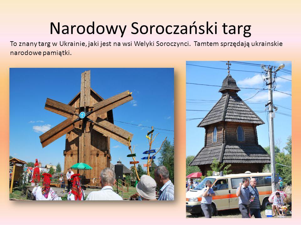 Narodowy Soroczański targ