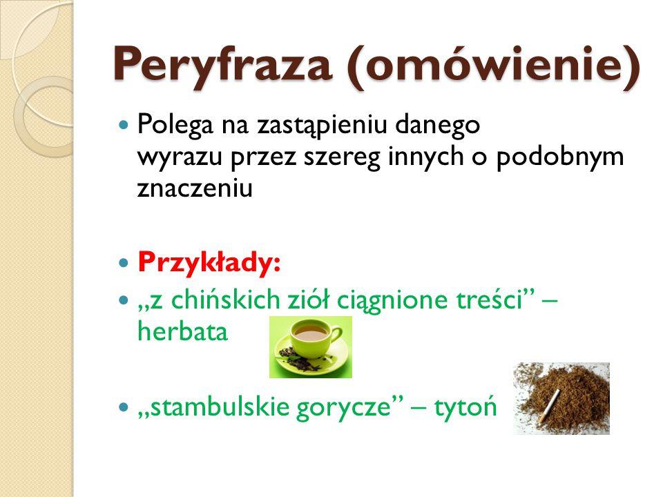 Peryfraza (omówienie)