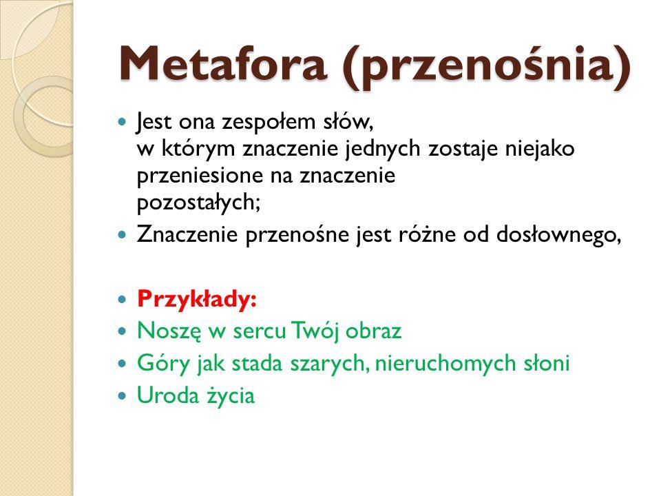 Metafora (przenośnia)