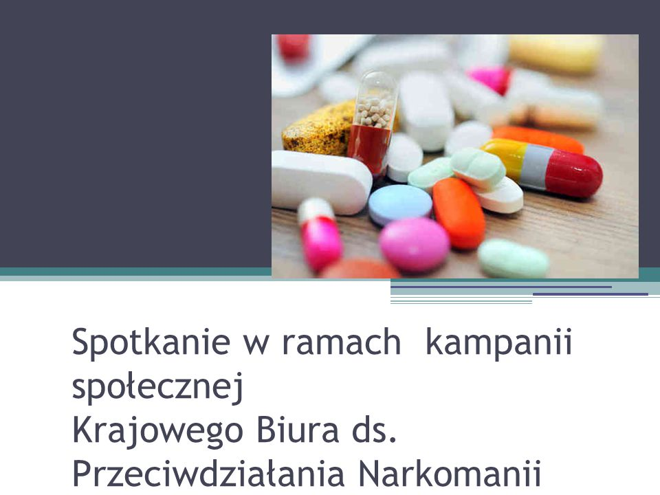 Przyjmuje leki czy bierze